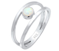 Ring 'Opal' silber