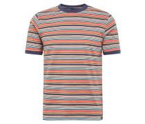 T-Shirt 'New Paltz' navy / rot