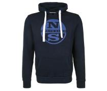 Sweatshirt 'hooded Sweat Logo' blau