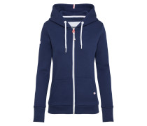 Sweatshirtjacke 'LA Athletic' navy