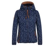 Jacket '36 DDs' dunkelblau / braun / weiß