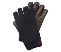 Handschuhe braun / rot / schwarz