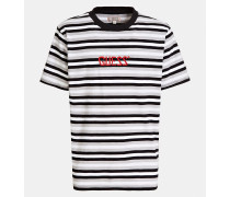 Shirt grau / weiß / schwarz