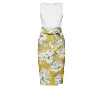 Kleid limette / weiß