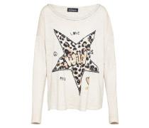 Shirt 'Leostern' beige