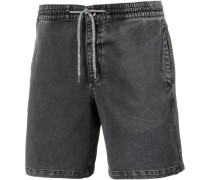 'flare' Shorts grey denim