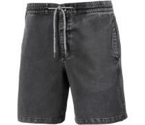 'flare' Shorts grey denim