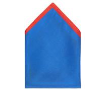 Taschentuch '28 Square' blau / hellrot