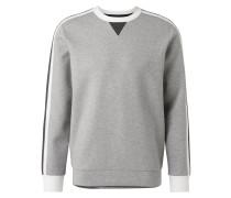 Sweatshirt grau / weiß