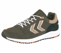 Sneaker '3S Sport' beige / oliv