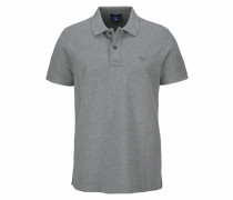 Polo-Shirt 'Original SS Rugger' graumeliert