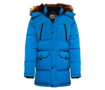 Winterparka 'mario' blau