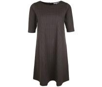 Kleid 'abbil' khaki / schwarz