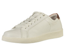Sneaker bronze / weiß