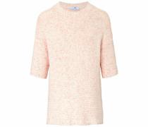 Kurzarmpullover mit 1/2-Arm rosa