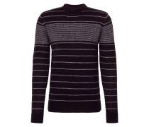 Pullover 'mk-273Tolby' grau / schwarz