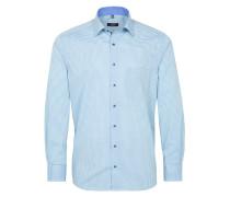 Hemd Modern FIT himmelblau / weiß