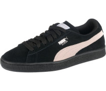 Sneaker 'Suede Classic' puder / schwarz