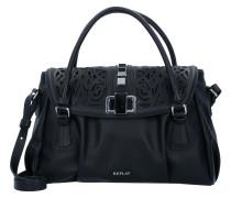 Handtasche 36 cm schwarz