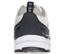 Sneaker kobaltblau / grau / weiß