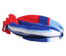 Stirnband blau / rot / weiß
