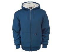 Kapuzenjacke 'Sherpa' blau