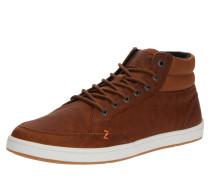 Sneaker 'Industry 2.0' cognac / weiß