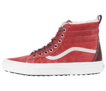 Sneaker 'Sk8-Hi Mte' rot / weinrot / weiß