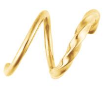 Unicorn Left Loop Ohrring gold