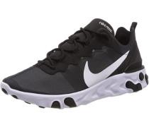 Sneaker ' React Element 55 ' weiß / schwarz