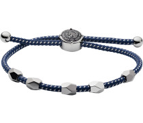 Armband dunkelblau / silber
