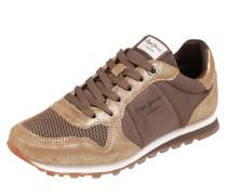 Sneaker 'verona W Twin' braun / gold
