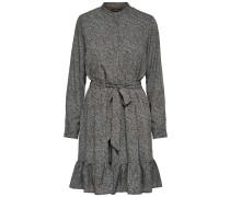 Kleid schoko / graumeliert