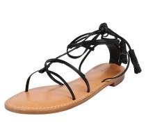 Sandale 'Bella Flat Sandal' schwarz