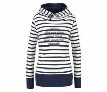 Sweatshirt navy / offwhite