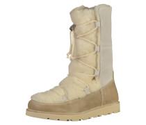 Stiefel 'Nuuk' beige / weiß