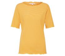 T-Shirt gelb / weiß