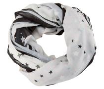 Loop grau / schwarz / weiß