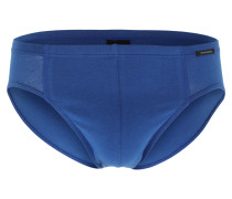 Slips im 3er-Pack 'Supermini' royalblau