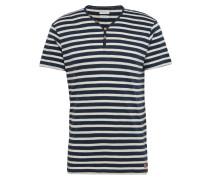 T-Shirt 'sg-068Ee2K013' navy / weiß