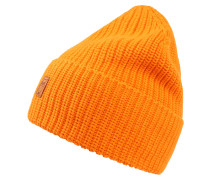 Mütze 'Ribbing' orange