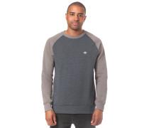 Sweatshirt 'Homak Crew' stone / graumeliert
