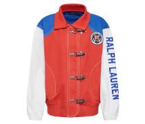 Jacke blau / rot / weiß