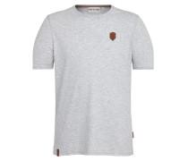 T-Shirt 'Italienischer Hengst' grau