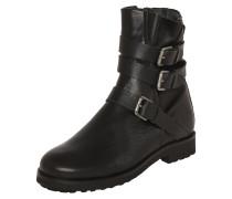 Leder-Boots 'Alanis' schwarz