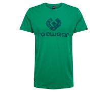 Shirt 'charles' grün / blau