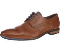 Don Business Schuhe navy / rostbraun