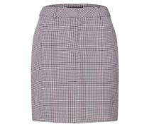Rock 'blk & Port Check Belted Skirt'