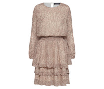 Kleid 'Nicoline-LS4' beige / schwarz