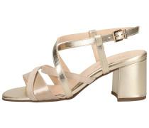 Sandalen weiß / beige